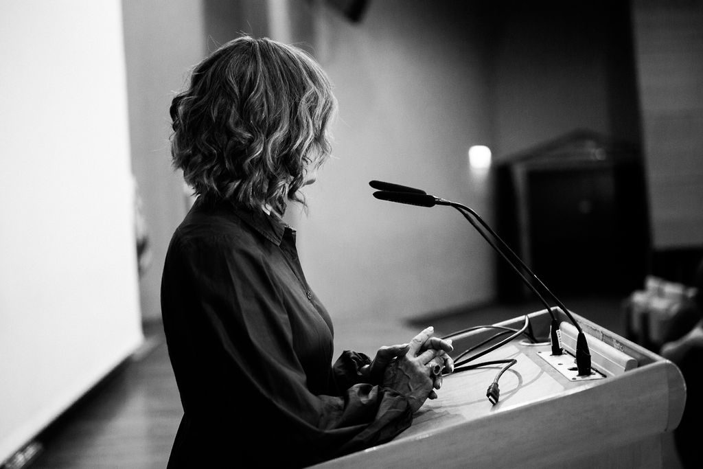 Eve Harow Speaking